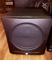Click for large photo of JBL LSR2310SP