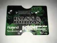 Click for large photo of Roland SR-JV80-10 Bass and Drums