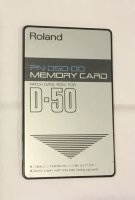 Click for large photo of Roland PN-D50-00 ROM Card
