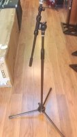 Click for large photo of Dr.Pro Boom Mic Stand