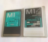 Click for large photo of Korg M1 Drums 2 Card Set