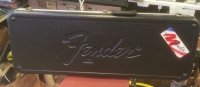 Click for large photo of Fender Guitar Case