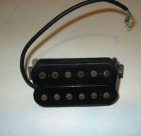 Click for large photo of Gibson 80's T-Top Humbucker
