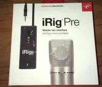 Click for large photo of IK Multimedia iRig PRE