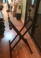 Click for large photo of  2 Tier Keyboard Stand