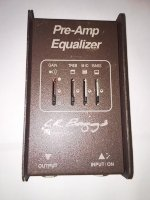 Click for large photo of L.R.Baggs Preamp Equalizer