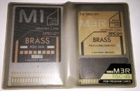 Click for large photo of Korg M1 Brass Rom Set