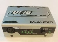 Click for large photo of M-Audio Midiman Midisport 2x2