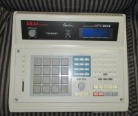 Click for large photo of Akai MPC60II