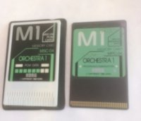 Click for large photo of Korg Orchestra 1 M1 2 Card Set