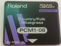 Click for large photo of Roland PCM1-08