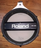 Click for large photo of Roland PD-120