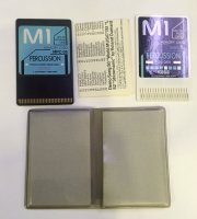 Click for large photo of Korg Percussion 2 Card Sound Card Set