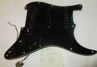 Click for large photo of Fender Strat Pickguard Assembly