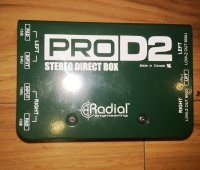 Click for large photo of Radial ProD2 Direct Box