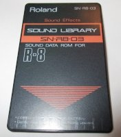 Click for large photo of Roland SN-R8-03 Sound Effects