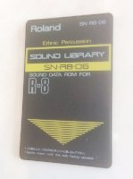 Click for large photo of Roland SN-R8-06 Ethnic Percussion R8 Card