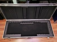 Click for large photo of Road Ready 88 Key Flight Case With Wheels