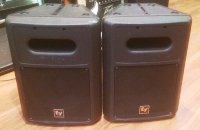 Click for large photo of Electrovoice SB120 Powered Subwoofers (Pair)