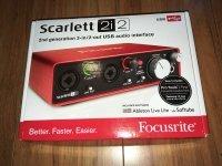 Click for large photo of Focusrite Scarlett 2i2
