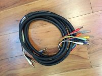 Click for large photo of Hosa 8 Channel 1/4 Inch Snake