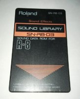 Click for large photo of Roland SN-R8-03 Sound Effects Card