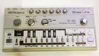 Click for large photo of Roland TB-303 Bassline