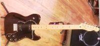 Click for large photo of Fender Modern Player Tele Thinline Deluxe