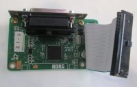 Click for large photo of Korg Triton SCSI Board