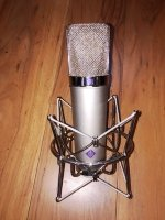 Click for large photo of Neumann U87 40th Anniversary Edition