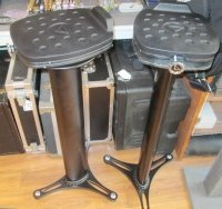 Click for large photo of Ultimate Support MS-100 Speaker Stands