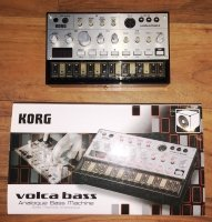 Click for large photo of Korg Volca Bass