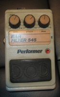 Click for large photo of DOD Wah Filter 545