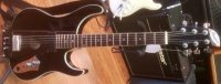 Click for large photo of Rubytone Custom Made Guitar