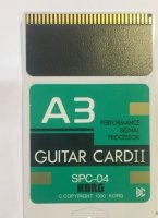 Click for large photo of Korg A3 Guitar II Card SPC-04