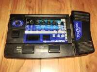 Click for large photo of Korg AX100G