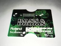 Click for large photo of Roland JV Board Bass&Drum SR-JV80-10