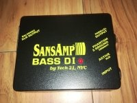 Click for large photo of Tech 21 Bass DI