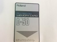 Click for large photo of Roland PN-D50-00 Rom Card for D50