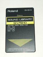 Click for large photo of Roland R8 Dance Card SN-R8-10