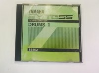 Click for large photo of Yamaha SY55/TG55 Data Sound Card Drums 1