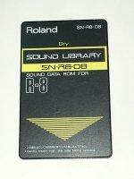 Click for large photo of Roland R8 Dry Expansion Card SN-R8-08