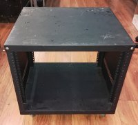 Click for large photo of  8 Space rack with wheels