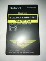 Click for large photo of Roland R8 Electronic Card SN-R8-04