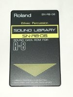 Click for large photo of Roland R8 Ethnic Percussion Card SN-R8-06