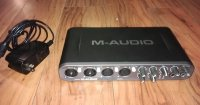 Click for large photo of M-Audio Fast track Ultra