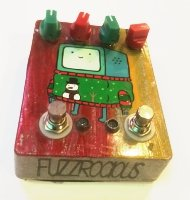 Click for large photo of Fuzzrocious Custom Painted Demon