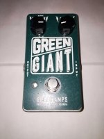 Click for large photo of Greer Amps Green Giant