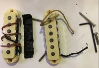 Click for large photo of Fender 1964 Jaguar Pickups