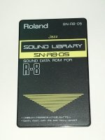 Click for large photo of Roland R8 Jazz Card SN-R8-05